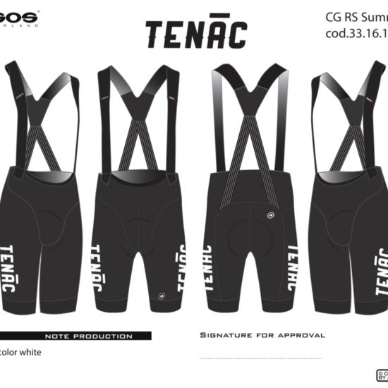 Tenac Championship Coaching Team Bibs 2021